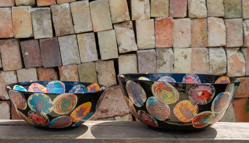 Medium and LArge Handthrown Bowls